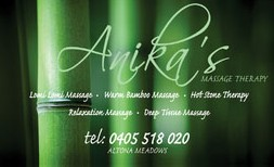 Anikas Massage Therapy - Find Attractions
