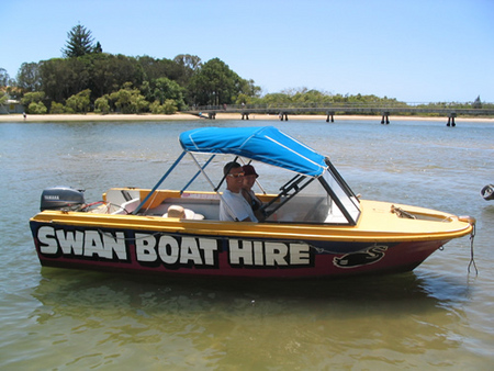 Swan Boat Hire - Find Attractions