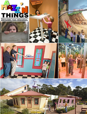 A Maze 'N Things - Find Attractions