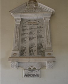 Warwick Railway Memorial Honour Board - Find Attractions