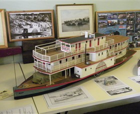 Wentworth Model Paddlesteamer Display - Find Attractions