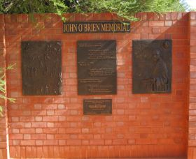 John OBrien Commemorative Wall - Find Attractions