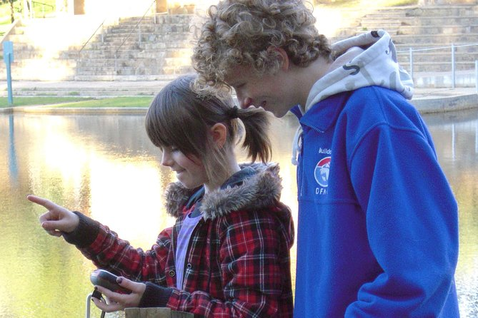 GPS Treasure Hunt. Lake Daylesford. - Find Attractions
