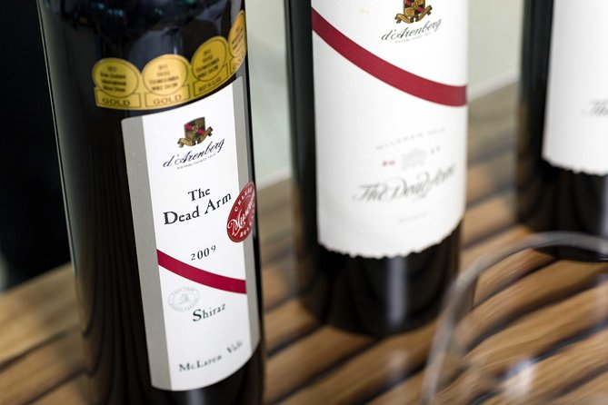 d'Arenberg McLaren Vale The Dead Arm Shiraz Vertical Masterclass and Cheese Plate - Find Attractions