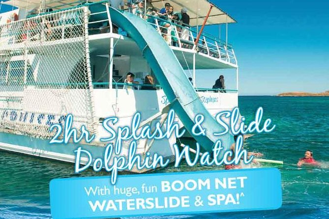 Port Stephens Dolphin Watching Cruise Including Splash and Slide - Find Attractions