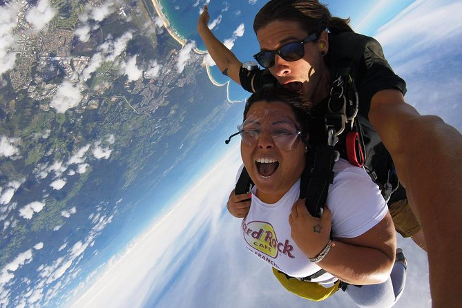 Coffs Harbour Ground Rush or Max Freefall Tandem Skydive on the Beach - Find Attractions