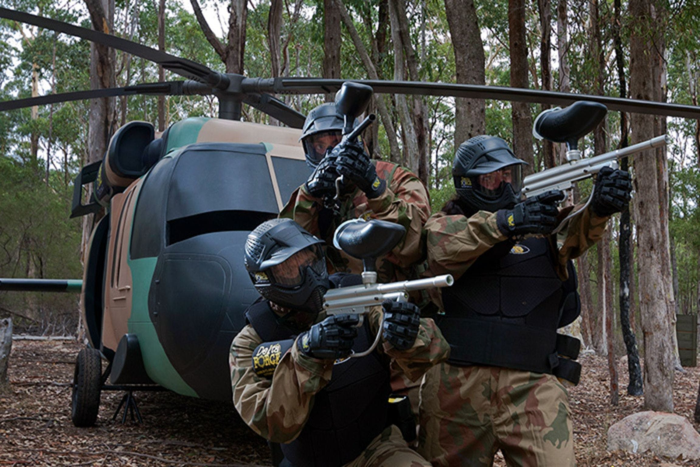 Delta Force Paintball Appin - Find Attractions