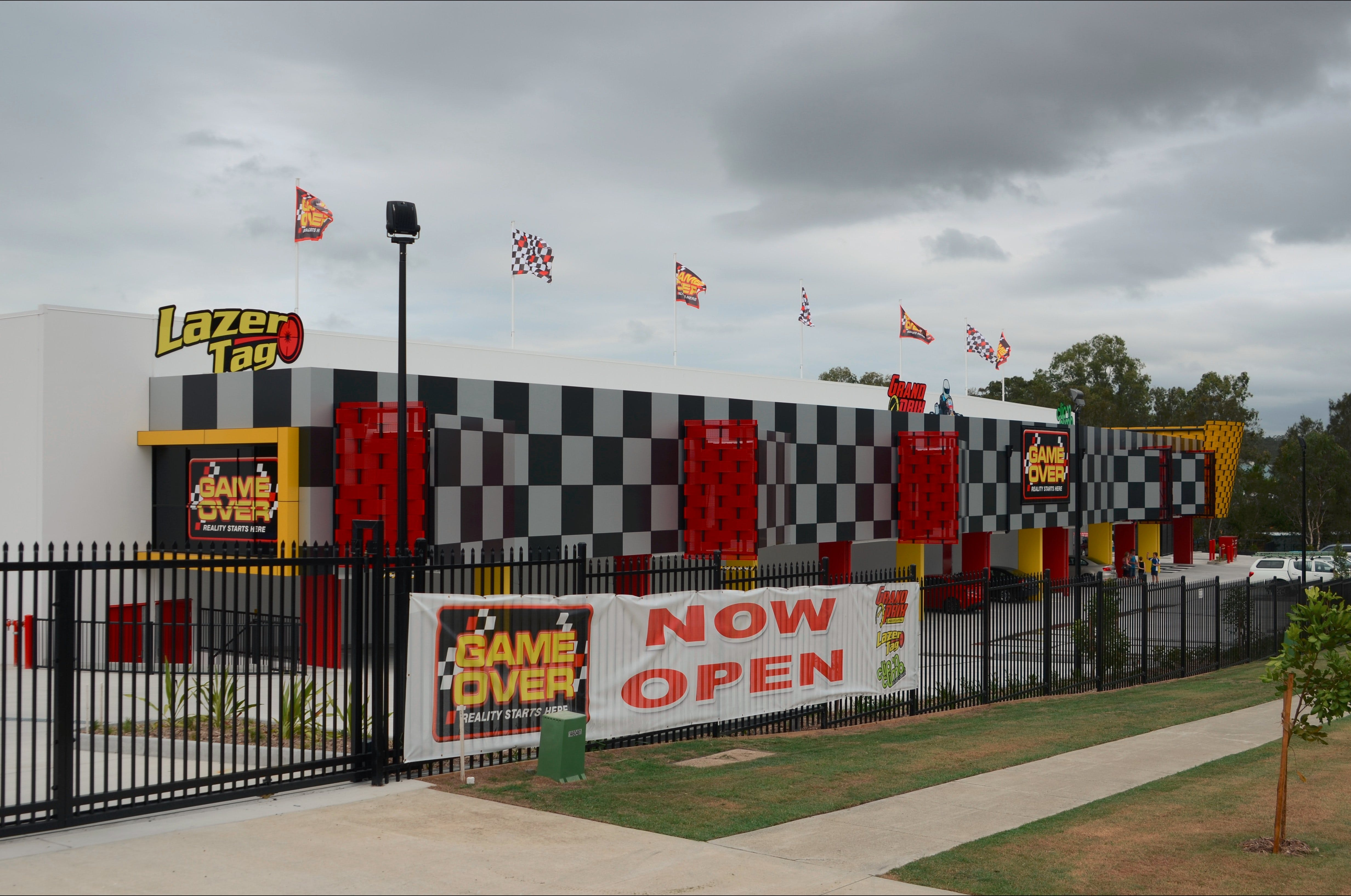 Game Over Indoor Go Karting Adventure Climbing Walls and Lazer Tag Centre - Find Attractions