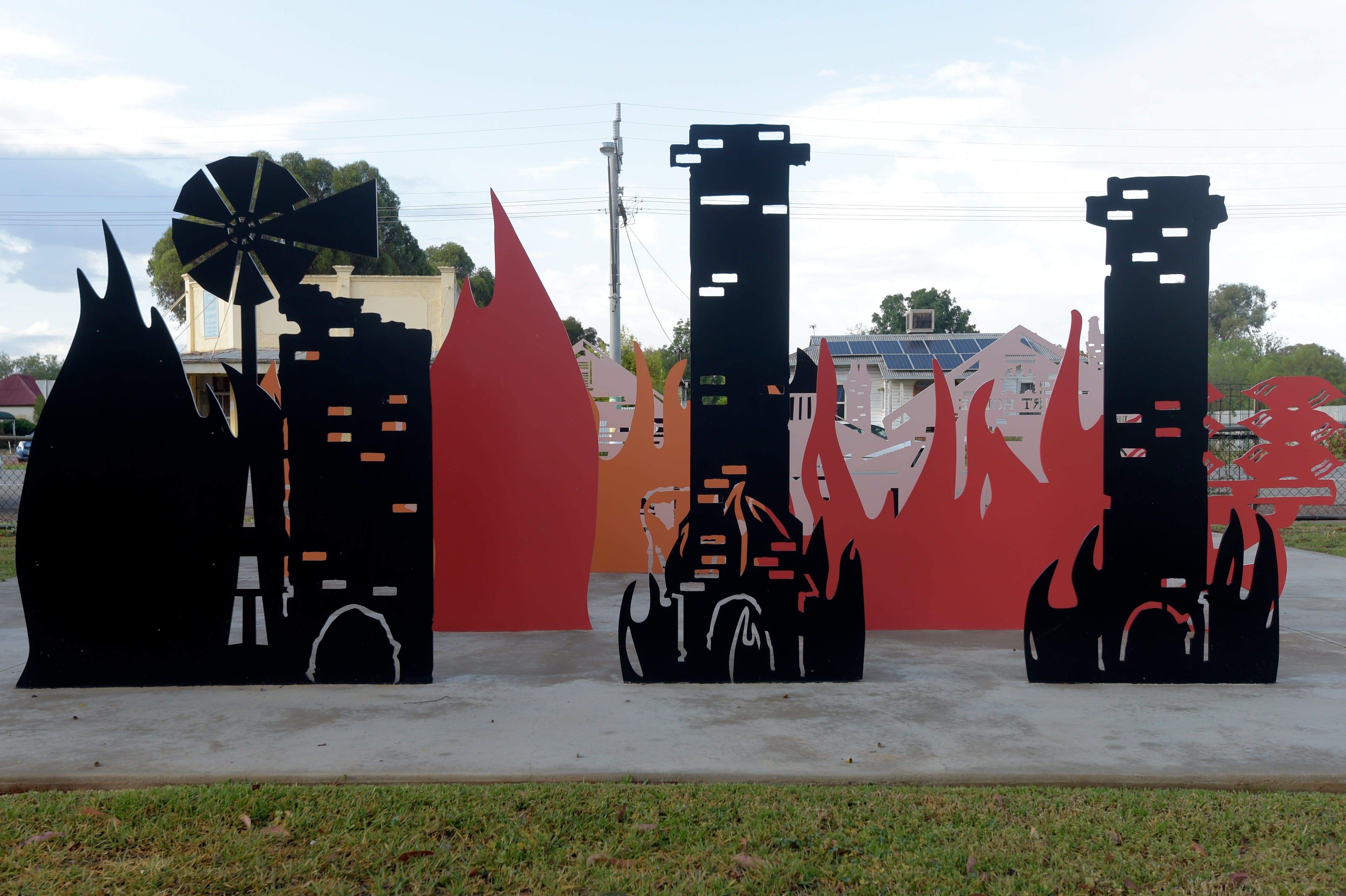 Lyrics Landscapes and Lintels - Leeton Public Art Trail - Find Attractions