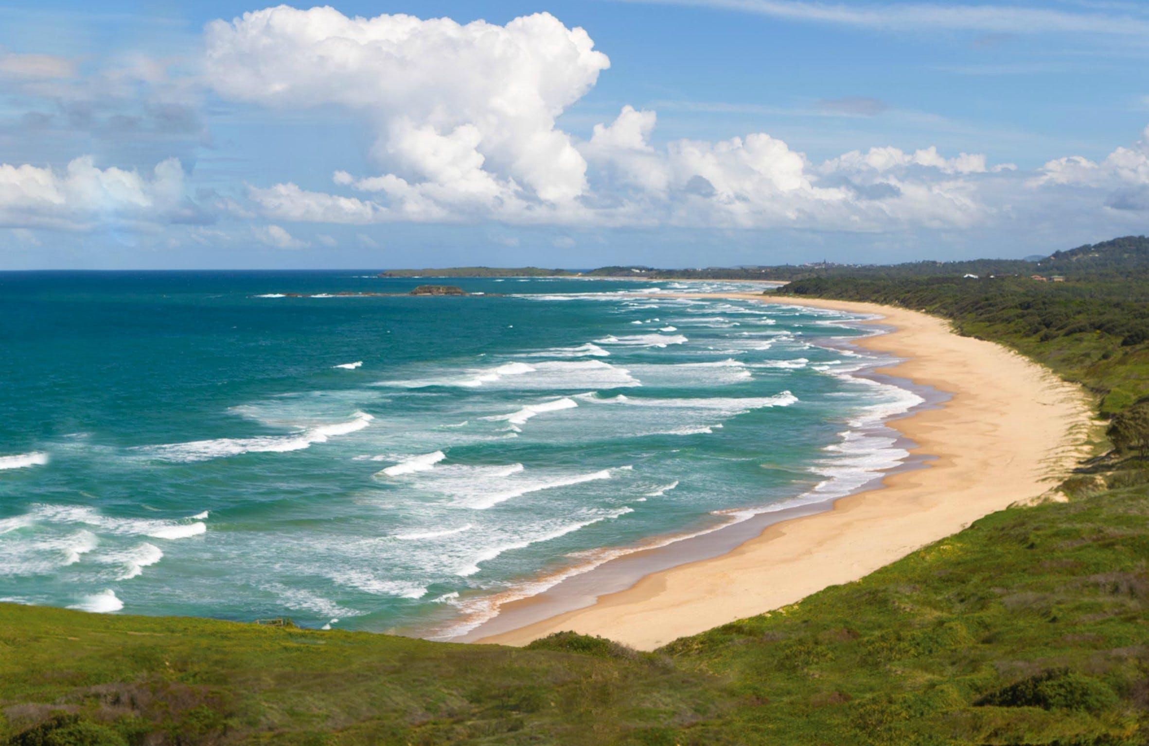 Woolgoolga Beach and Headland - Find Attractions