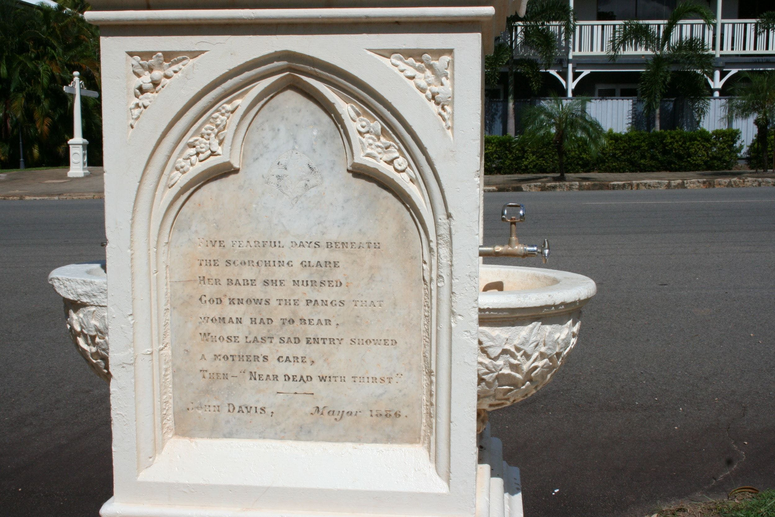 Mary Watson Monument Cooktown - Find Attractions