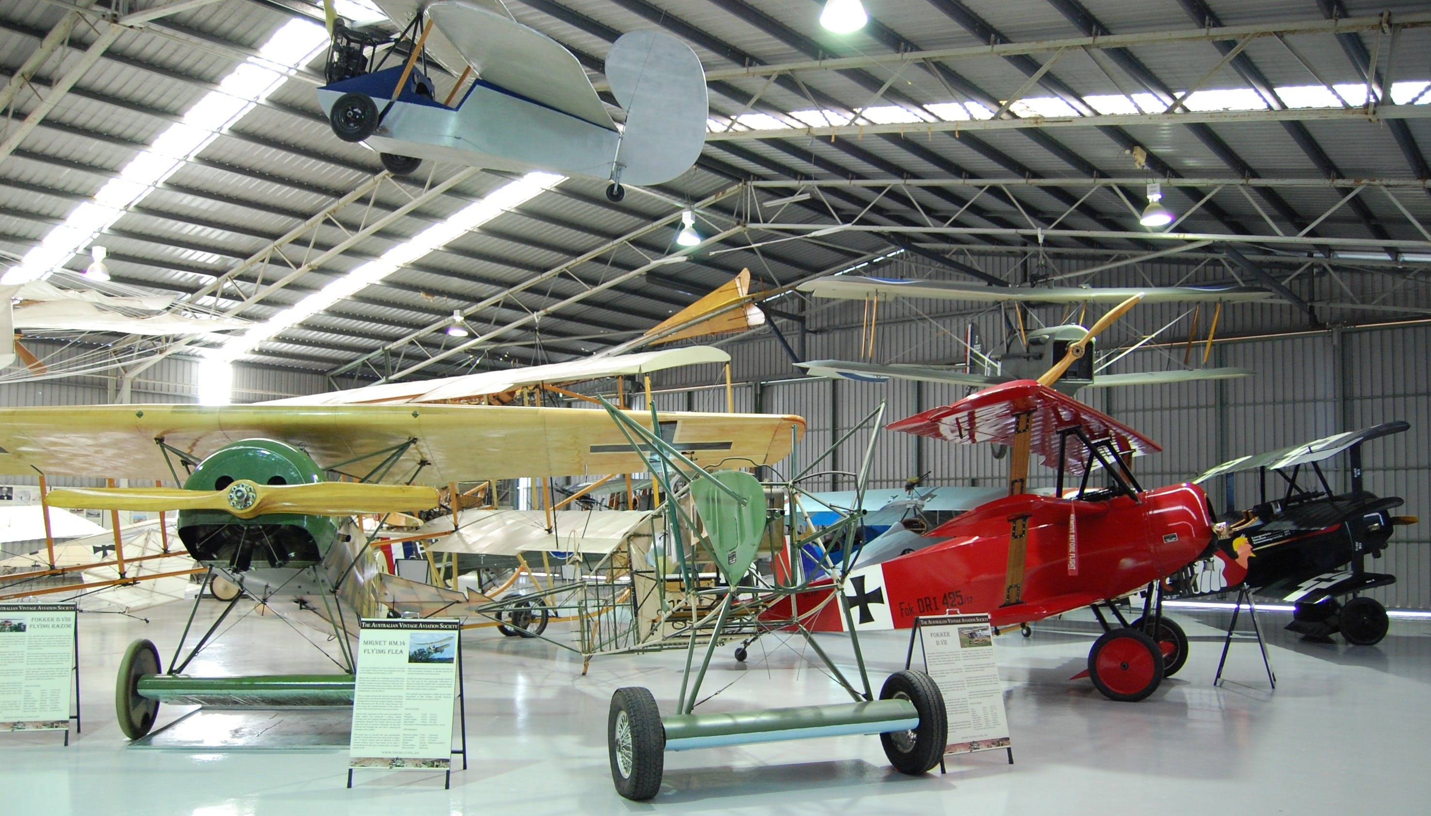 The Australian Vintage Aviation Society Museum - Find Attractions