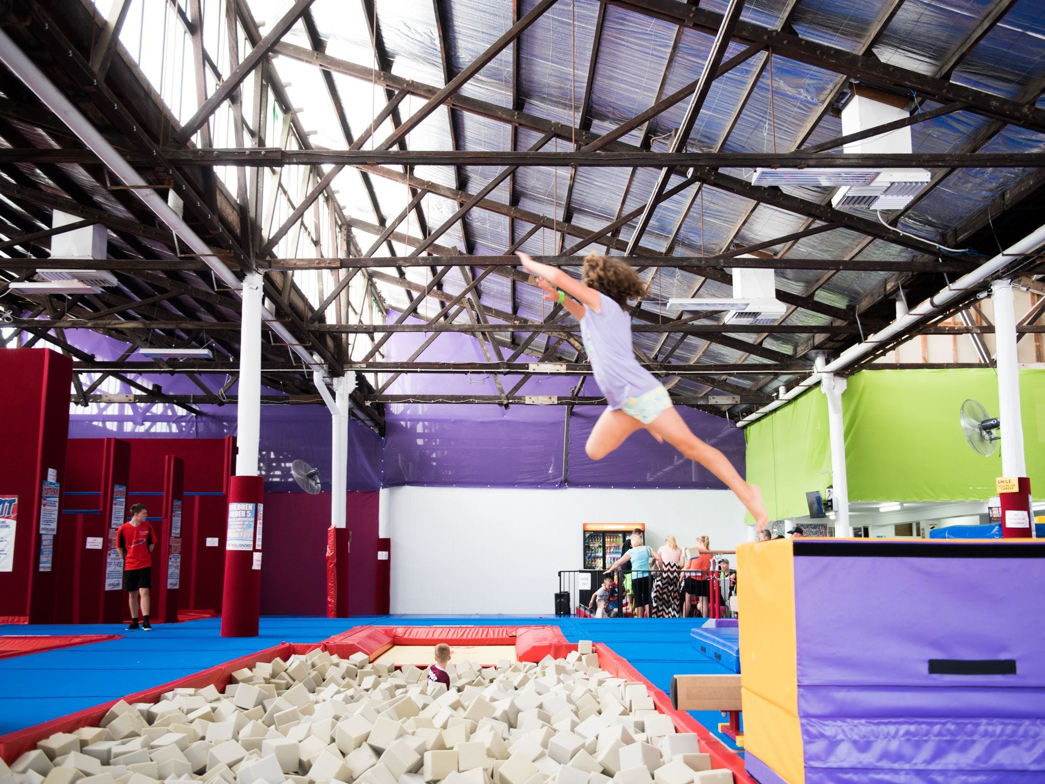 Springloaded Trampoline - Find Attractions