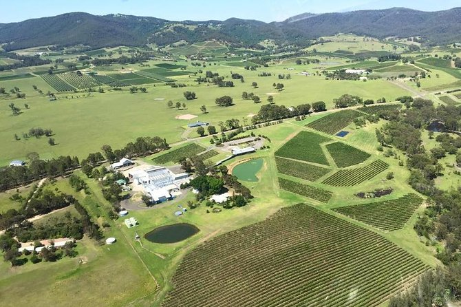 Helicopter Tour of Hunter Valley in New South Wales with Lunch - Find Attractions